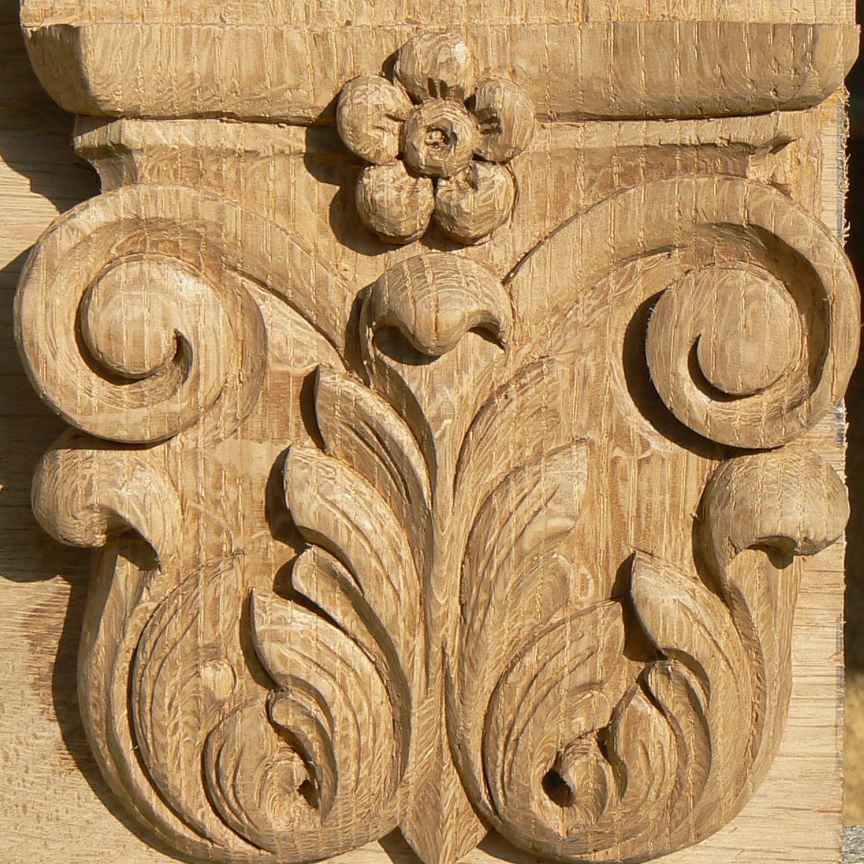 Sculpture ornementale - Sculpture sur bois motifs ...